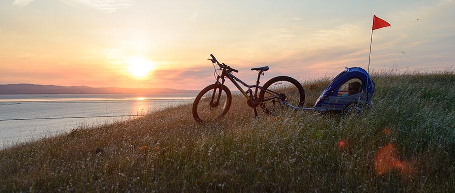 Vagn till cykel
